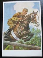 Propaganda Postkarte 3. Reich SA Sportabzeichen - Brieven En Documenten