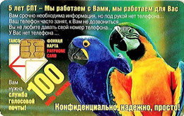 *RUSSIA - SAINT PETERSBURG* -  Scheda Usata - Pappagalli