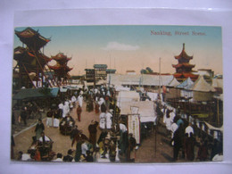 CHINA / CHINE - POST CARD SHANGHAI , NANKING STREET SCENE IN THE STATE - China