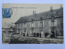 CPA (50) Manche - AUMEVILLE LESTRE - La Ferme Du Château - Other Municipalities