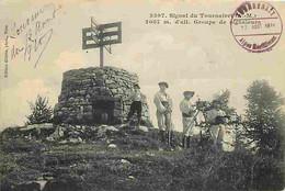 06 - Alpes Maritimes - Signal Du Tournairet - Groupe De Signaleurs - Animée - CPA - Voir Scans Recto-Verso - Other Municipalities