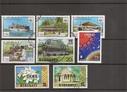 Kiribati ( Lot De Timbres Divers Différents Oblitérés) - Kiribati (1979-...)
