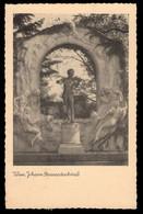 AUSTRIA (1937) Statue Of Johann Strauss Playing Violin. 3 Gr Trachten (Burgenland) Postal Card - Interi Postali