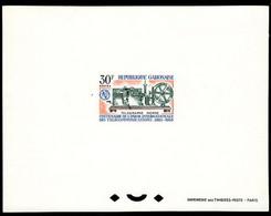 GABON (1965) Morse Telegraph. Deluxe Sheet. Scott No 180, Yvert No 179. - Gabon (1960-...)