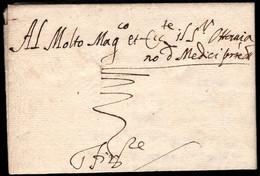 ITALY (1567) Medici. Folded Letter - Family Correspondence Of Medici Family. - 1. ...-1850 Vorphilatelie