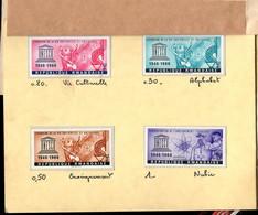 RWANDA (1966) UNESCO Emblem. Proof Booklet Printed By Austria Post. Scott Nos 186-93. - Altri