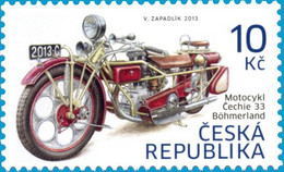 ** 768 Czech Republic Motorcycle Cechie - Böhmerland 2013 - Nuovi