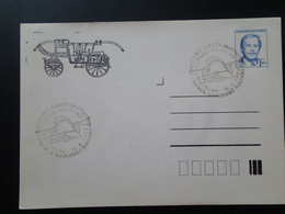 Entier Postal Stationery Véhicule De Pompier Firefighting Car Tchecoslovaquie Ref 65864 - Sapeurs-Pompiers