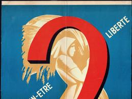 Affiche électorale - Parti Communiste De Belgique - Années 60 ? - Posters