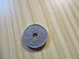 Belgique - 10 Centimes Albert Ier 1920,ces Souligné Par 1 Trait Normal + 1 Trait Partiel.N°3349. - 04. 10 Centimes
