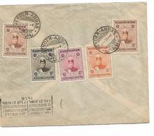 REF4624/ Iran Cover 1926 Bender Abbas  > Belgium Grez-Doiceau - Iran