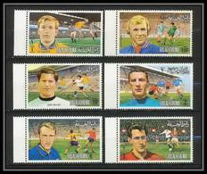 140 - Ras Al Khaima MNH ** Mi N° 745 / 750 A European Football Players (Soccer) Muller Moore Riva Himst Durr - Eurocopa (UEFA)