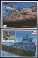 Turks- & Caicos 1996 - Mi-Nr. Block 161-162 ** - MNH - Schiffe / Ships - Turks And Caicos