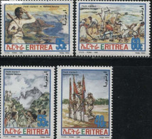 Eritrea 1996, Military Service, MNH Stamps Set - Eritrea