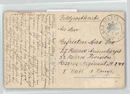 53017251 - Bahnpoststempel Bad Steben Hof Zug Nr. 6 Kampf Mit Der Englischen Flotte Vor Ostende - Autres