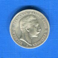 2  Mark  1902 - 2, 3 & 5 Mark Argent