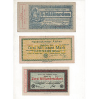 NOTGELD - AACHEN - 6 Different Notes - 1923 (A009) - [11] Local Banknote Issues