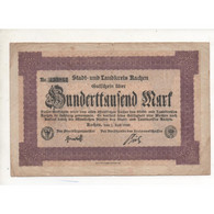 NOTGELD - AACHEN - 100.000 Mark - 1923 (A010) - [11] Local Banknote Issues
