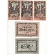 NOTGELD - ALLSTEDT - 8 Different Notes - Serie & VARIANTE - 1918 (A027) - [11] Local Banknote Issues