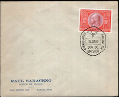 Argentina - 1949 - Carta - Raul Saraceno - Editor De Musica - Tango - A1RR2 - Covers & Documents