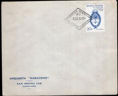 Argentina - 1943 - Carta - Orquesta Saraceno - Editor De Musica - Tango - A1RR2 - Covers & Documents