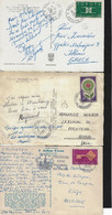 FRANCE,1962-68, 4 POSTCARDS, 3 OF THEM MAILED TO GREECE - Other