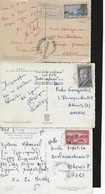 FRANCE,1961-63, 4 POSTCARDS, ALL MAILED TO GREECE - Other