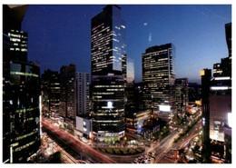 (UU 16) South Korea Posted To Australia - City At Night - Corea Del Sud