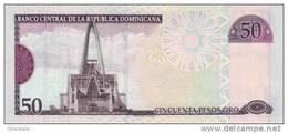 DOMINICAN REPUBLIC P. 176b 50 P 2008 UNC - Dominicaanse Republiek