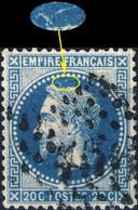 France - Yv.29A 20c Empire Lauré T.1 Position 076D1 (7è état) - Obl. GC - TB- - 1863-1870 Napoleon III Gelauwerd