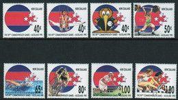 NEW ZEALAND 1989 Commonwealth Games MUH - Unused Stamps