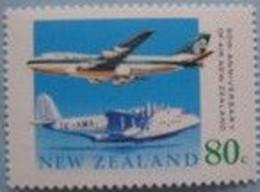 NEW ZEALAND 1989 Air NZ Plane MUH - Unused Stamps