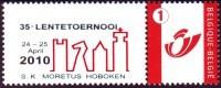 Belgie - Schaken Schach Chess Ajedrez - 35e Lentetornooi Moretus Hoboken (1e Drück) - Sellos Privados