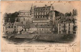 6DE 729 CPA - CHATEAU D' AMBOISE - VUE D'ENSEMPLE - Amboise