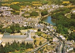 22 Quintin Le Centre Jean XXIII L'Etang Et Le Centre Ville (carte Vierge) - Quintin