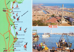 34 Sete Divers Aspects (carte Vierge) - Sete (Cette)