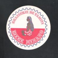 Bierviltje - Sous-bock - Bierdeckel  : BRASSERIE DE TAHITI - BIERE HINANO   ( Beschreven Achteraan)   (B 458) - Portavasos