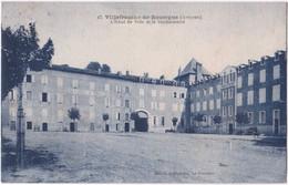 12. VILLEFRANCHE-DE-ROUERGUE. L'Hôtel De Ville Et La Gendarmerie. 47 - Villefranche De Rouergue