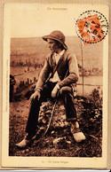 X15053 ⭐ Cantal En AUVERGNE Un Jeune Berger DIENNE 04-02-1928 Edition Luxe Pierre Adrien MALROUX Aurillac N°15 - Non Classés