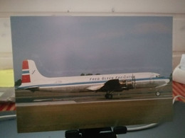 FRED OLSEN. NORWAY. DC6 - 1946-....: Era Moderna