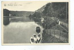Waulsort Vue Sur La Meuse ( Kayak ) Carte Ayant Voyagé - Hastière