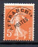 W-20 France Préo N° 50 **  à 10 % De La Côte    A Saisir !!! - 1893-1947
