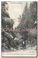 CPA St Martin Vesubie Excursion Dans Le Boreon - Saint-Martin-Vésubie