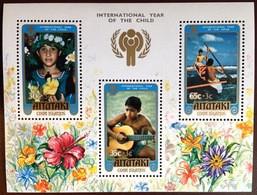 Aitutaki 1979 Year Of The Child Minisheet MNH - Aitutaki