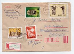 - Lettre Recommandée PESTERZSÉBET (Hongrie) Pour RUEIL-MALMAISON (France) 12.12.1984 - Bel Affranchissement Philatélique - Lettres & Documents