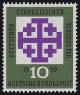 314v Kirchentag, Geriffelte Gummierung, ** - Sin Clasificación