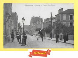 CPA VINCENNES *** 94 ***  QUARTIER DU PLATEAU - RUE DIDEROT - Vincennes
