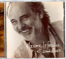 """CD  MAXIME LE FORESTIER  """"Essentielles"""" - Andere - Franstalig"""