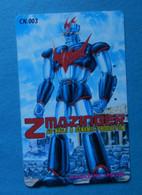 Japan Anime Manga Cartoon Movie Z Mazinger Go Nagai Dynamic Production NTT - Fumetti