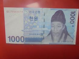 COREE(SUD) 1000 WON 2007 Circuler - Korea, South